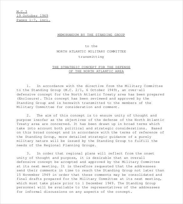 Strategy Memo Template – 11+ Free Word, PDF Documents Download ...