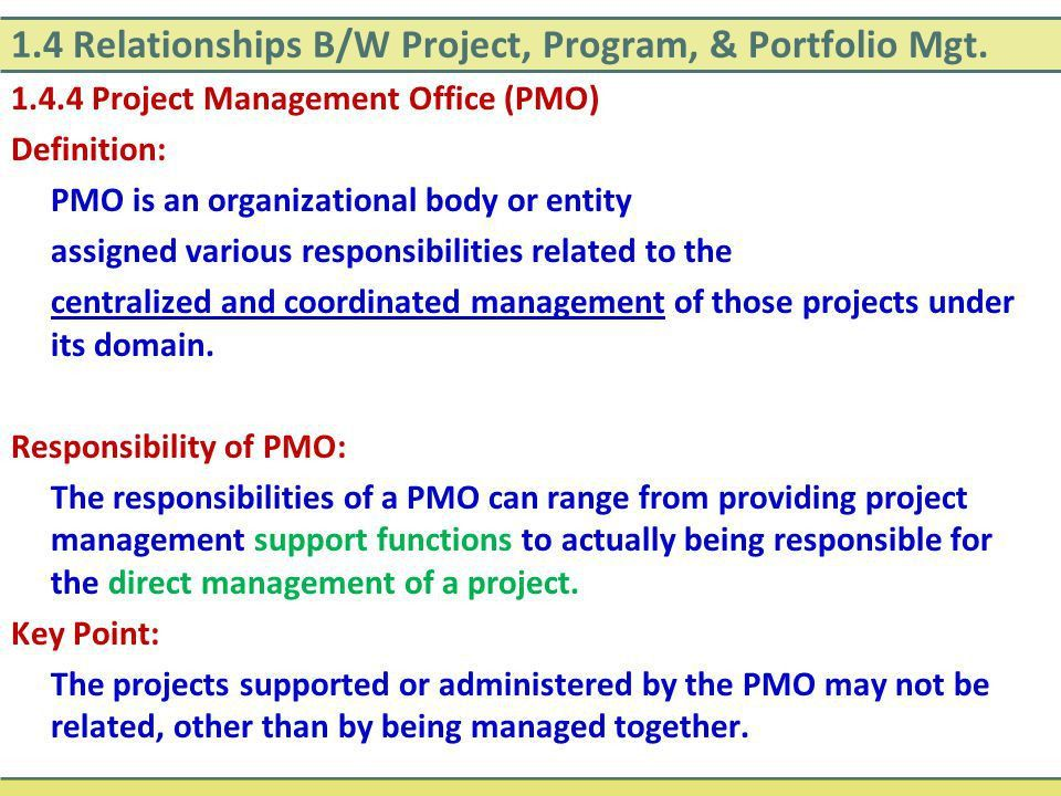 SECTION 1 THE PROJECT MANAGEMENT FRAMEWORK - ppt video online download