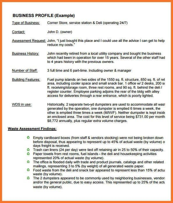 Amazing Small Company Profile Format Photos - Best Resume Examples ...