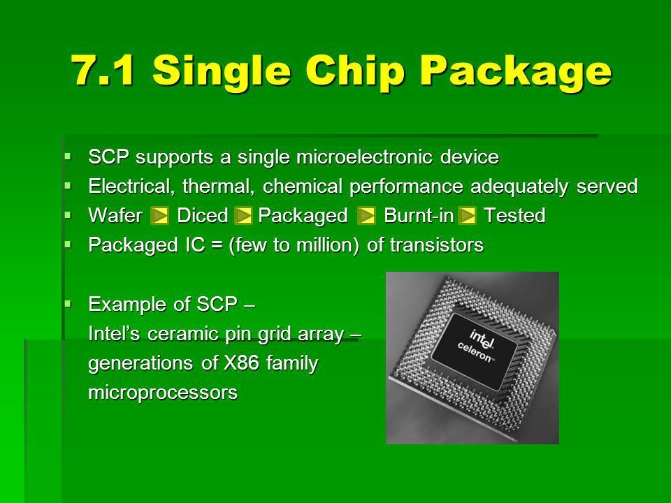 FUNDAMENTALS OF SINGLE CHIP PACKAGING - ppt video online download