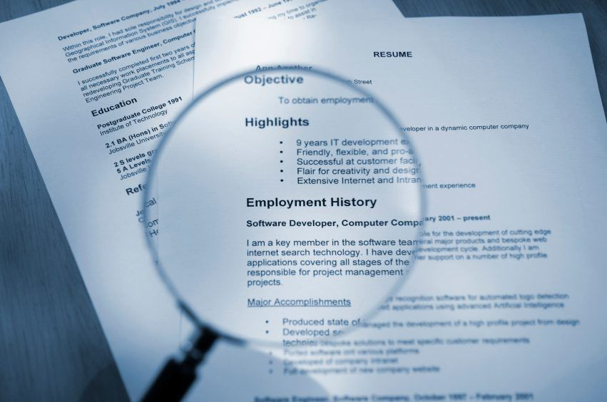 Would Your Resume Pass a Hiring Manager's First Scan ...
