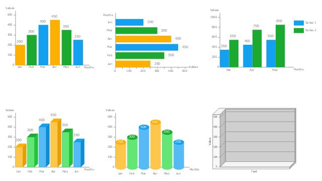Chart Maker for Presentations | Bar Chart Software | Rainfall Bar ...