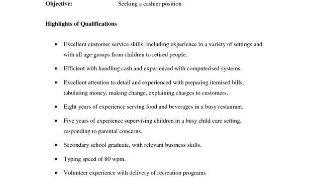 Resume : Sales Cover Letter Waitress Duties Cv Resume For Tim ...