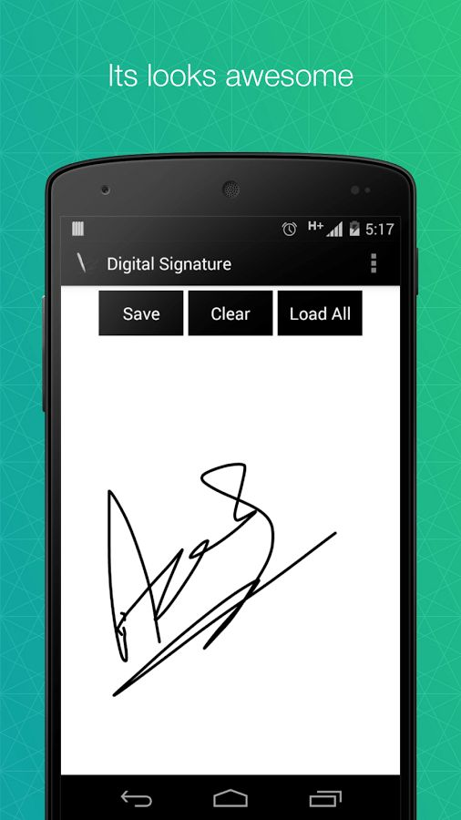 Digital Signature - Android Apps on Google Play