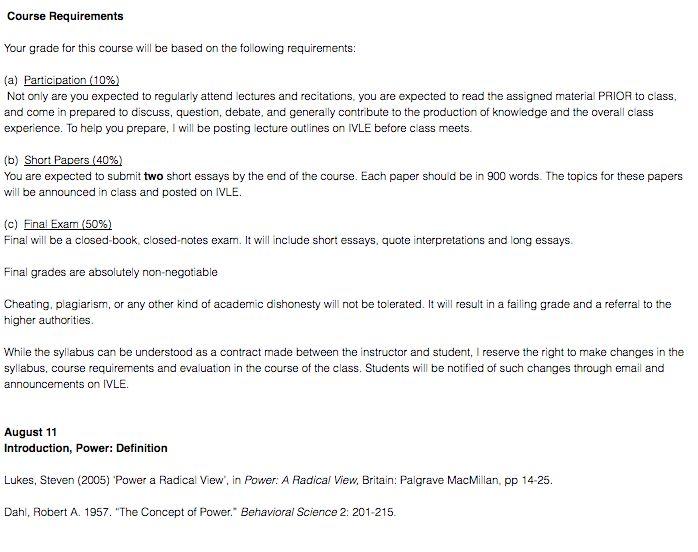 NUS IVLE: SEARCH for Course Descriptions! - Youth.SG