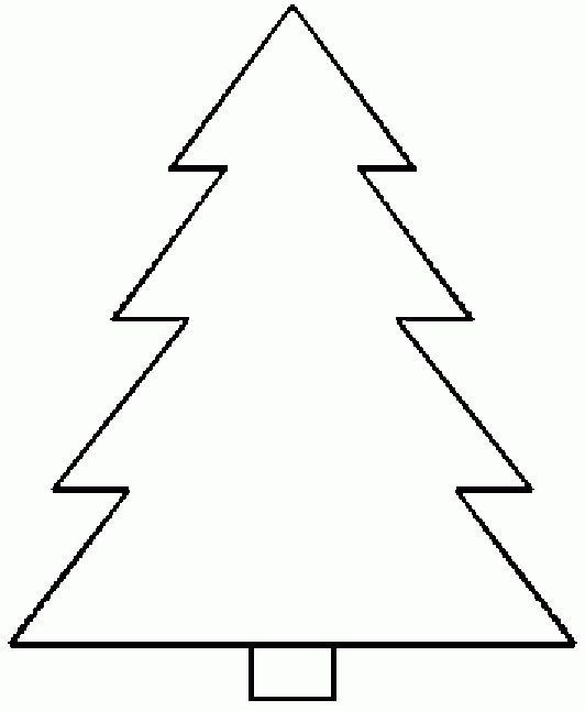 Printable Christmas Tree Templates – Happy Holidays!