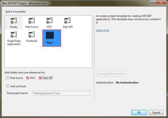 "c# - Custom ""One ASP.NET"" Project Templates within Visual Studio ..."