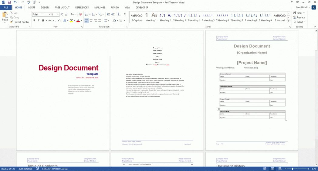 Why Use Microsoft Word Templates For Policies And Procedures Ms ...