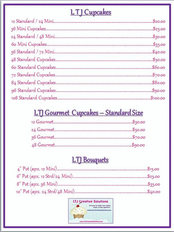 Cake Flavors  Pricing  Coccadotts Cake Shop  Custom Cake