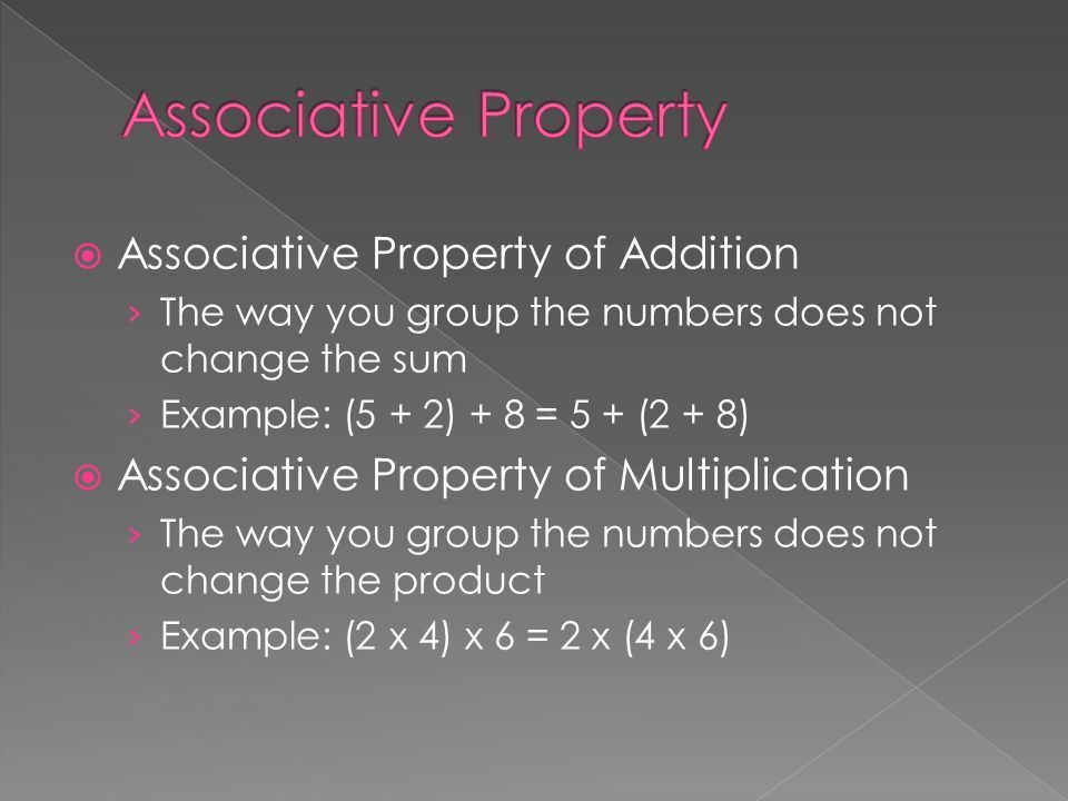 Commutative Property of Addition › The order in which you two ...