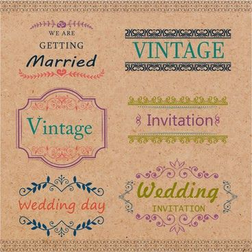 Wedding card template free vector free vector download (22,324 ...