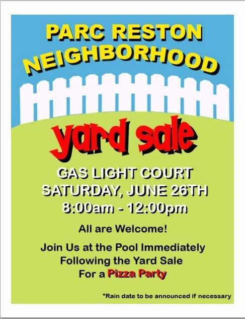 15 Free Yard Sale Flyers Of Great Help - Demplates