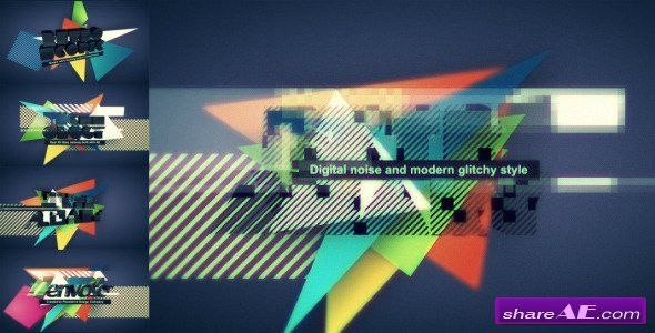 Videohive Digital Glitch Logo - After Effects Templates » free ...