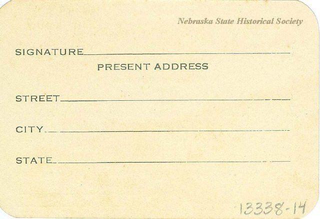 13338-14 - Card, Membership; KKK, Knights Kamellia, Blank