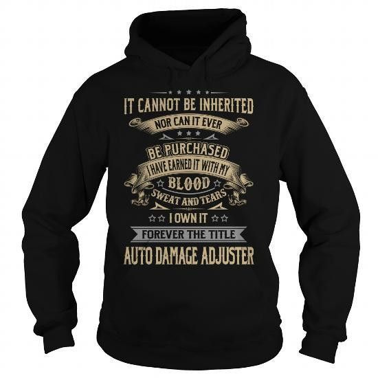 Cool Auto Damage Adjuster Forever Job Title Shirts Shirts & Tees ...
