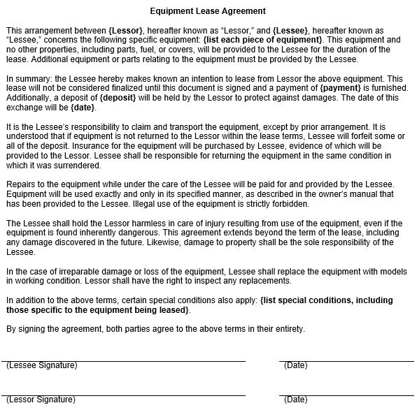 Simple Commercial Lease Agreement Doc | Create professional ...
