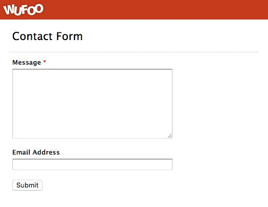 Examples of Online Forms | Wufoo