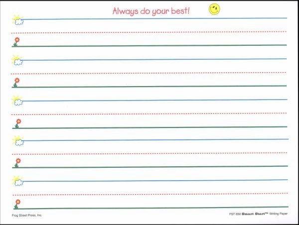 Images gallery of primary handwriting paper : Kelpies