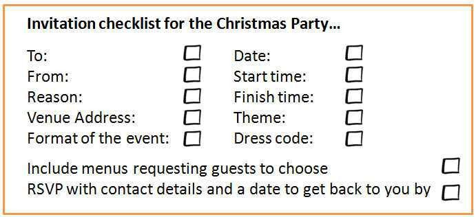 Christmas Parties: 18 Steps to Planning the Christmas Party ...