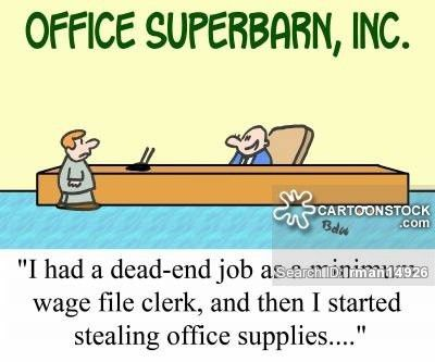 Dead-end Jobs Cartoons and Comics - funny pictures from CartoonStock
