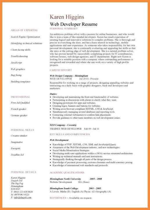 developer cover letter sample
