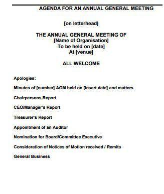 Invitation Letter Shareholders Meeting | Create professional ...