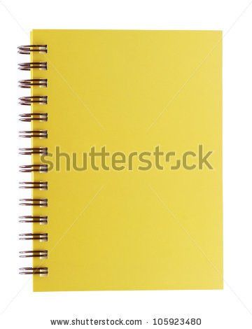 Cover Yellowed Notebook Stock Images, Royalty-Free Images ...