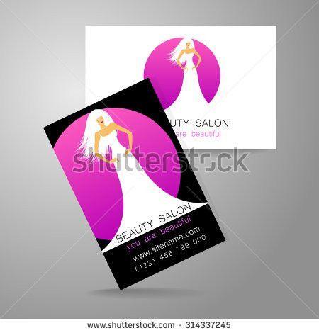 Beauty Logo Design Corporate Identity Template Stock Vector ...