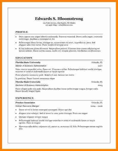 6+ free basic resume templates | budget template