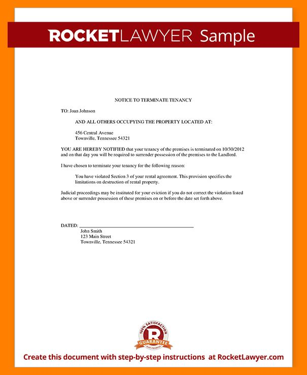 10+ sample eviction letter | student resume template