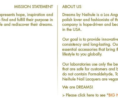Dreams Mission Statement