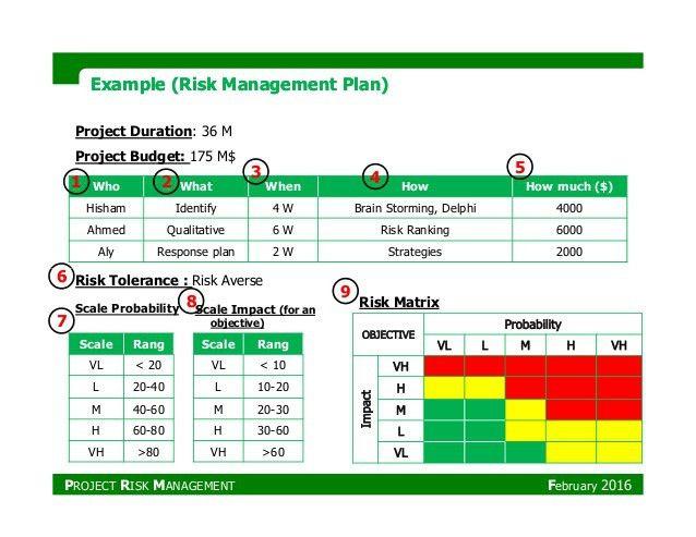 PMP_Project Risk Management