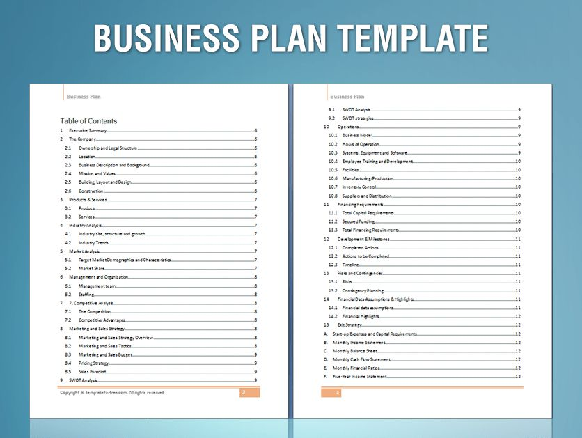 Sample Business Plan | Fotolip.com Rich image and wallpaper