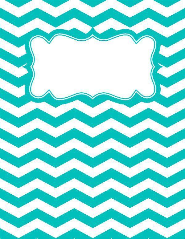 Best 20+ Chevron binder covers ideas on Pinterest | Chevron ...