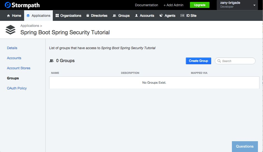 Create a Simple Web App: Example with Spring Boot, Spring Security ...