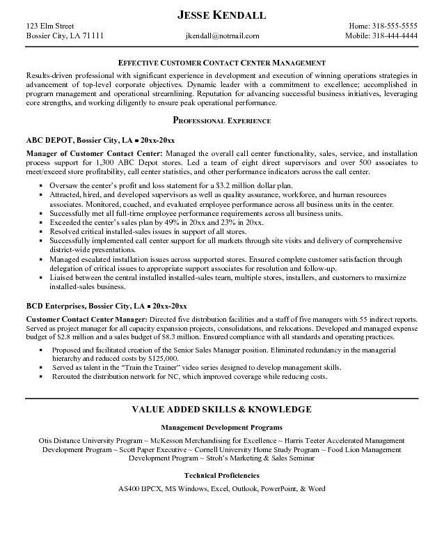 Marvelous Call Center Resume Samples 14 Sample Agents Without ...