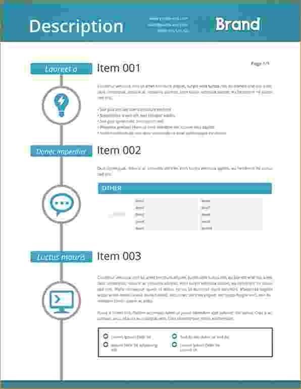 7+ Web Design Proposal Template | Timeline Template