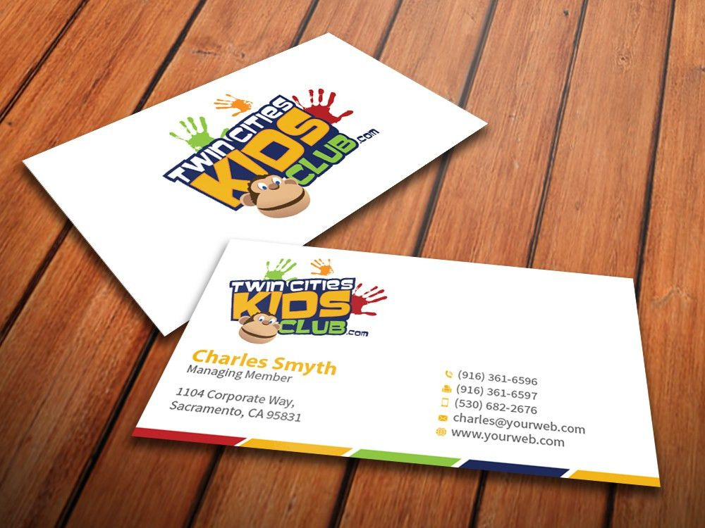 Playful, Colorful Business Card Design for Brian by ...