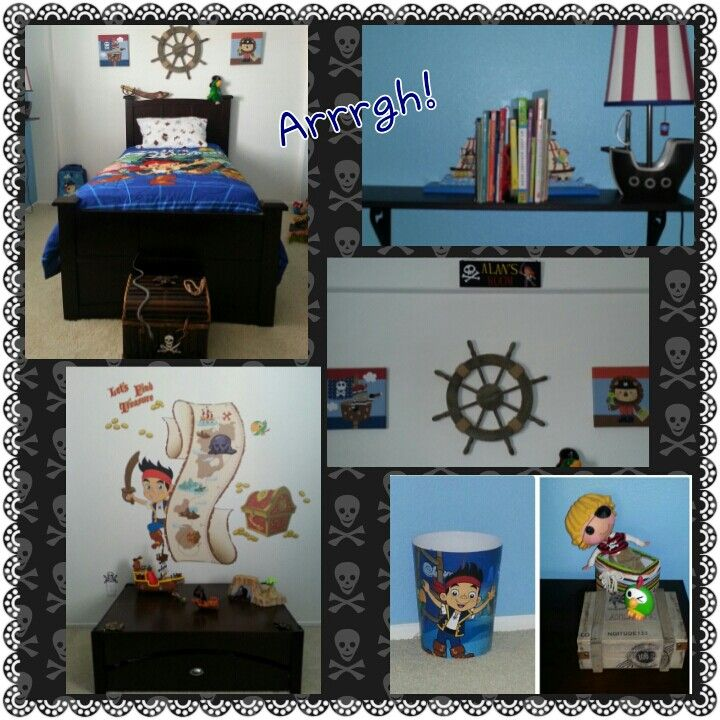 1000 Images About Jake And The Neverland Pirates Room Ideas On Pinterest Pirates Kids Pirate