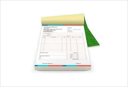 Bill Book Design Templates   Bill Book Formats