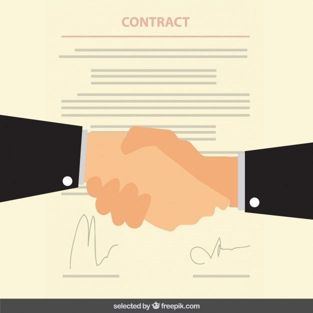 Business contract Vector | Free Download