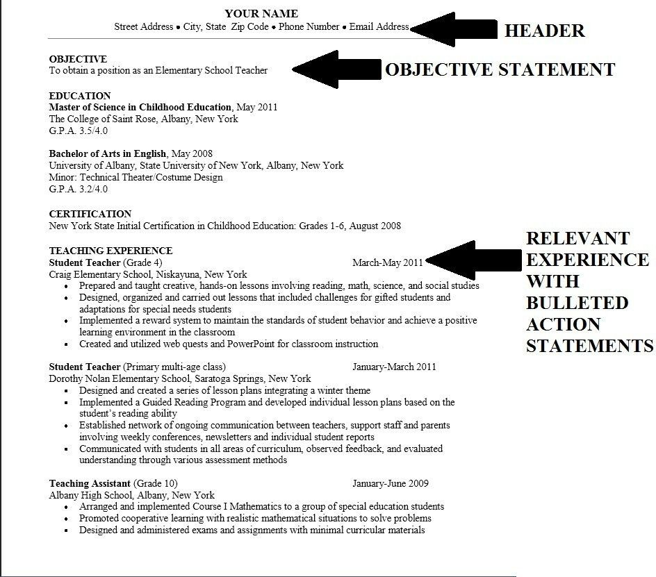 sample job objectives resume resume examples resume examples ...