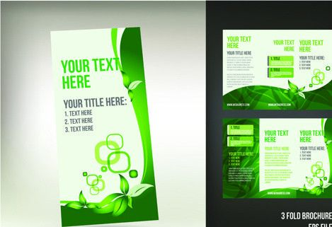 Tri fold brochure template free vector download (13,595 Free ...