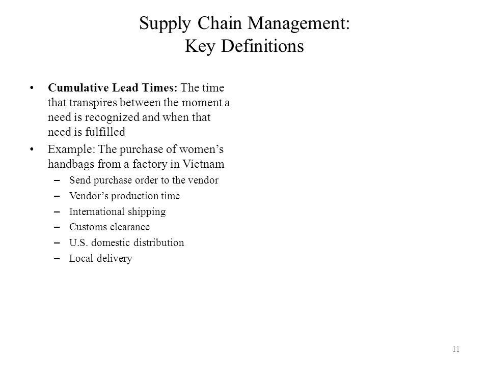 Introduction to Global Supply Chain Management Module Two: An ...
