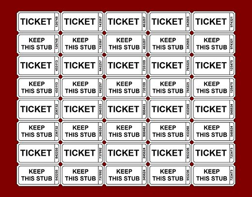 14+ printable raffle ticket template | sendletters.info