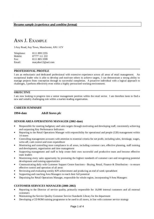 Resume : Detailed Curriculum Vitae Best Letter Design Cio Resumes ...