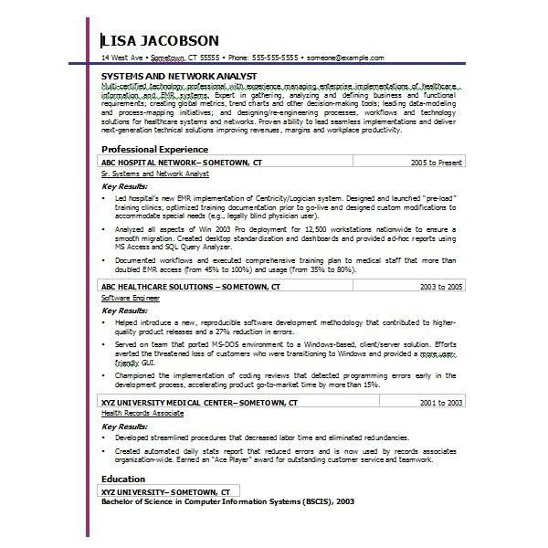 monster resume samples