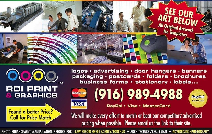 RDIwebsite Current Ads • Discount Printing • Full Service Graphic ...
