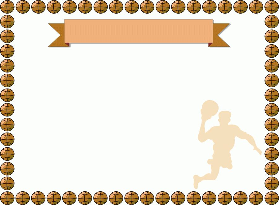 basketball-Formal-Certificate-Borders-templates