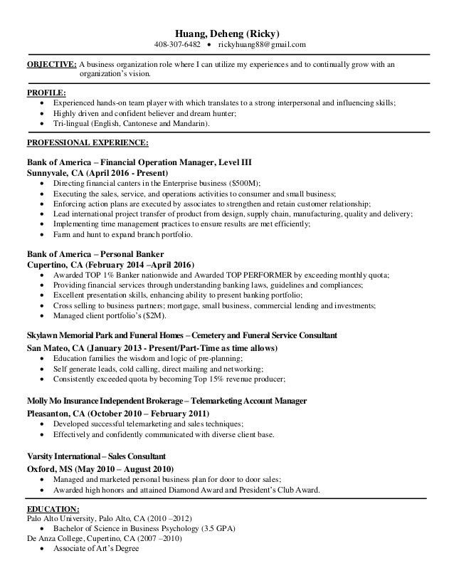 100+ [ Telemarketing Resume ] | Extremely Creative Customer ...